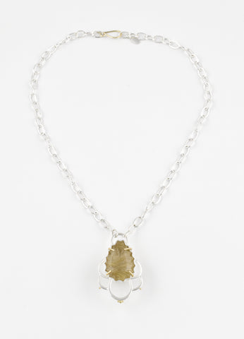 Rutilated Quartz Necklace #2