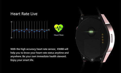 MTK-KW88 Luxury Smart Watch (Android / IOS Phone Compatible)