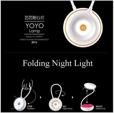 3 in 1 Portable Folding Lamp