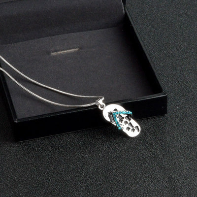 Premium Flip Flop Paw Necklace Offer