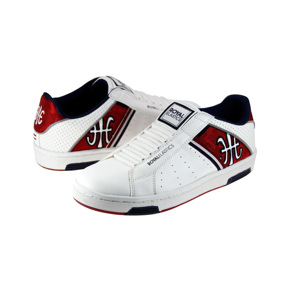 sale footaction ROYAL ELASTICS Men's Icon Alpha White Red Blue Sneakers 02073-010 pre order sale online cWcYCudqTy