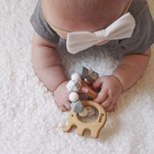 Greyscale Teether Rattle