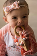 Blushing Bird Teether Rattle