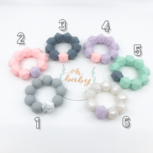 Icosahedron Freezable Silicone Teether