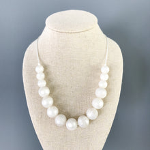 Strand of Pearls Mommy and Me Set Teething Necklaces