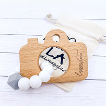 ENGRAVED 10 pack Large Camera Teether for Client Gift Package