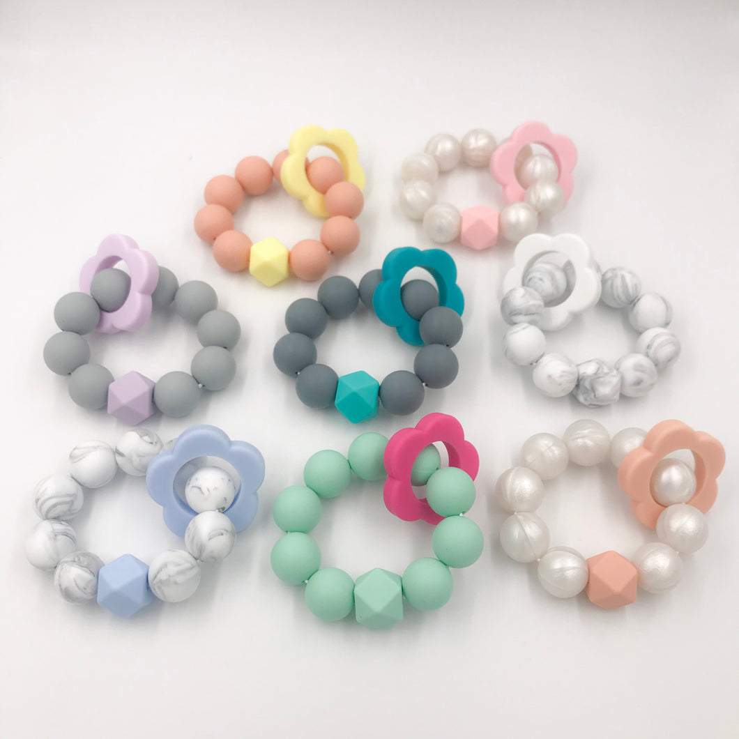 Freezable Silicone Teether Flower