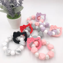 Kitty Freezable Silicone Teether
