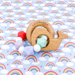 Rainbow Baby Animal Teether Rattle