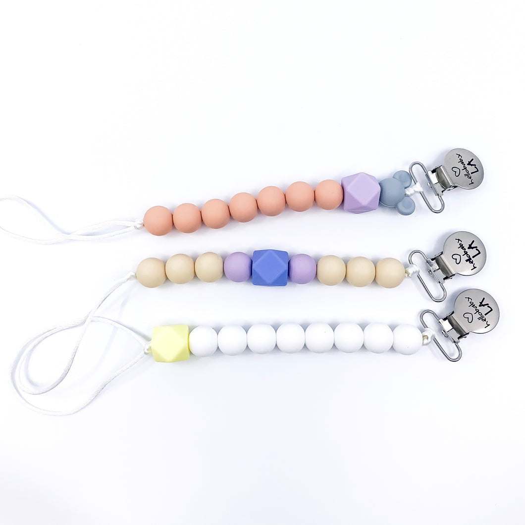 Mini Binky/Pacifier/Teething Leash Summer Sale