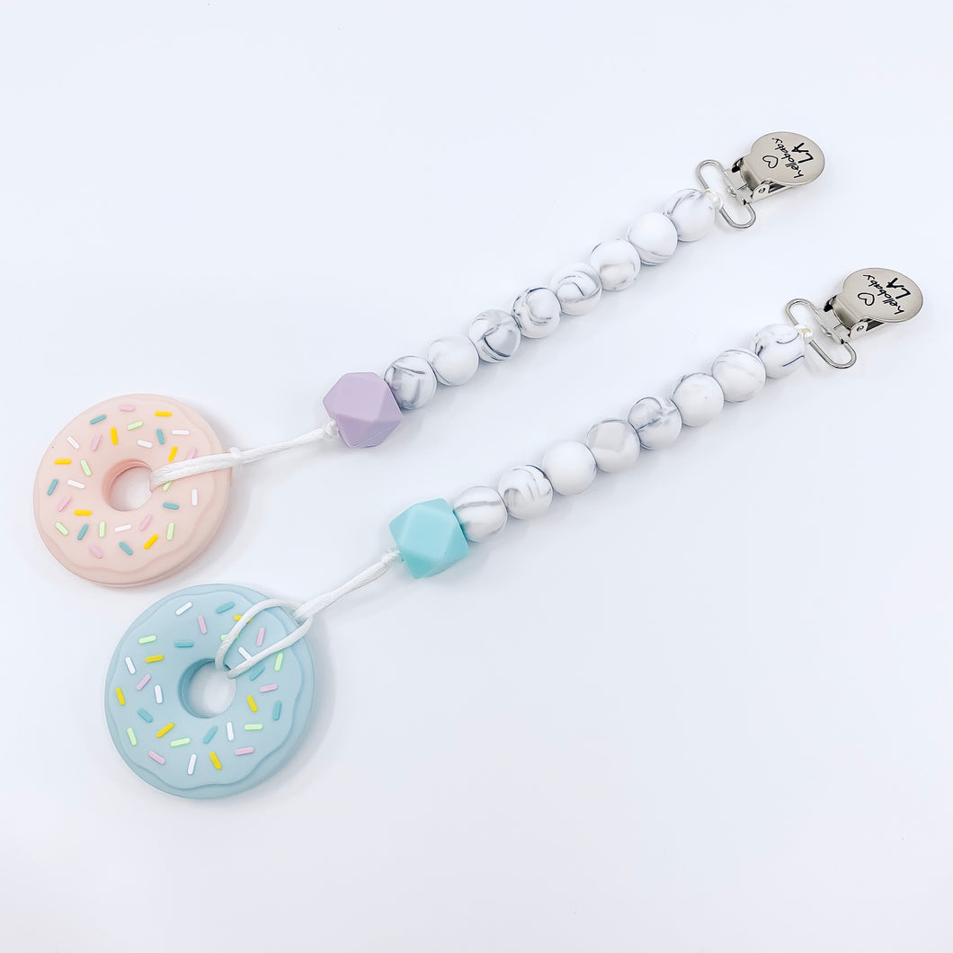 Donut Teether/Teething Leash Summer Sale