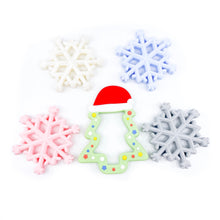 Holiday Silicone Teethers Stocking Stuffers