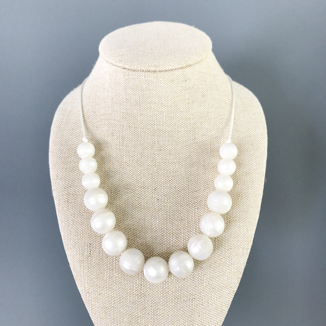 Strand of Pearls Teething Necklace