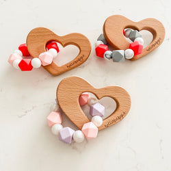 Big Heart Valentine's Day Teether