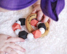 ENGRAVED Name! Baby's First Halloween Teether!