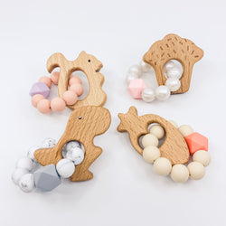 Mini Animal Silicone Teethers Summer Sale