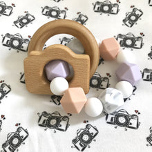 50 pack Photographer/Newborn Camera Teether Rattle Client Gift Package