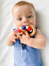 Patriotic Teether - 'MERICA love USA