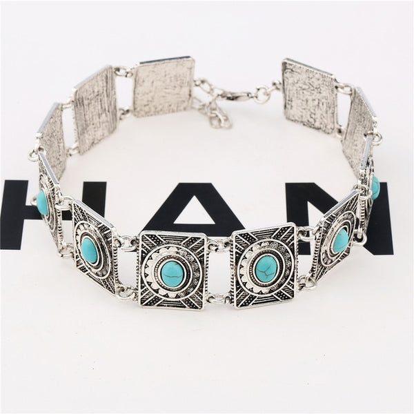 Antique Tibetan Silver Choker