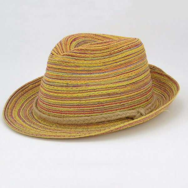 Colorful Straw Hat