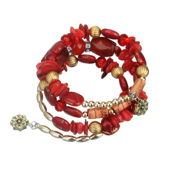 Crystal Nature Stone Bracelet
