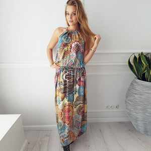 [FLASH SALE] Boho Sleeveless Dress