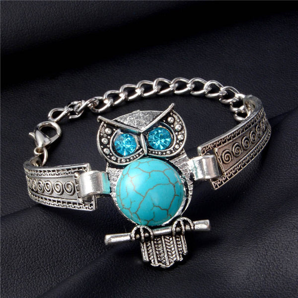 Blue Stone Bracelets Collection