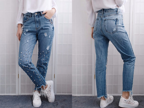 Pearl Waist Jeans