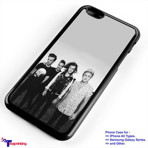 1D One Direction Band Classic - Personalized iPhone 7 Case, iPhone 6/6S Plus, 5 5S SE, 7S Plus, Samsung Galaxy S5 S6 S7 S8 Case, and Other