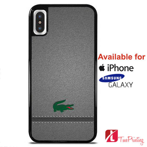 Lacoste Texture - Personalized iPhone X Case, iPhone Cases, Samsung Galaxy Cases 10823
