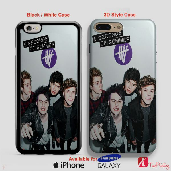 5 Seconds Of Summer POSTER 5SOS Case - Personalized iPhone 7 Case, iPhone 6/6S Plus, 5 5S SE, 7S Plus, Samsung Galaxy S5 S6 S7 S8 Case, and Other