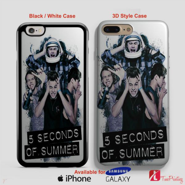 5 Seconds Of Summer Headache 5SOS Case - Personalized iPhone 7 Case, iPhone 6/6S Plus, 5 5S SE, 7S Plus, Samsung Galaxy S5 S6 S7 S8 Case, and Other