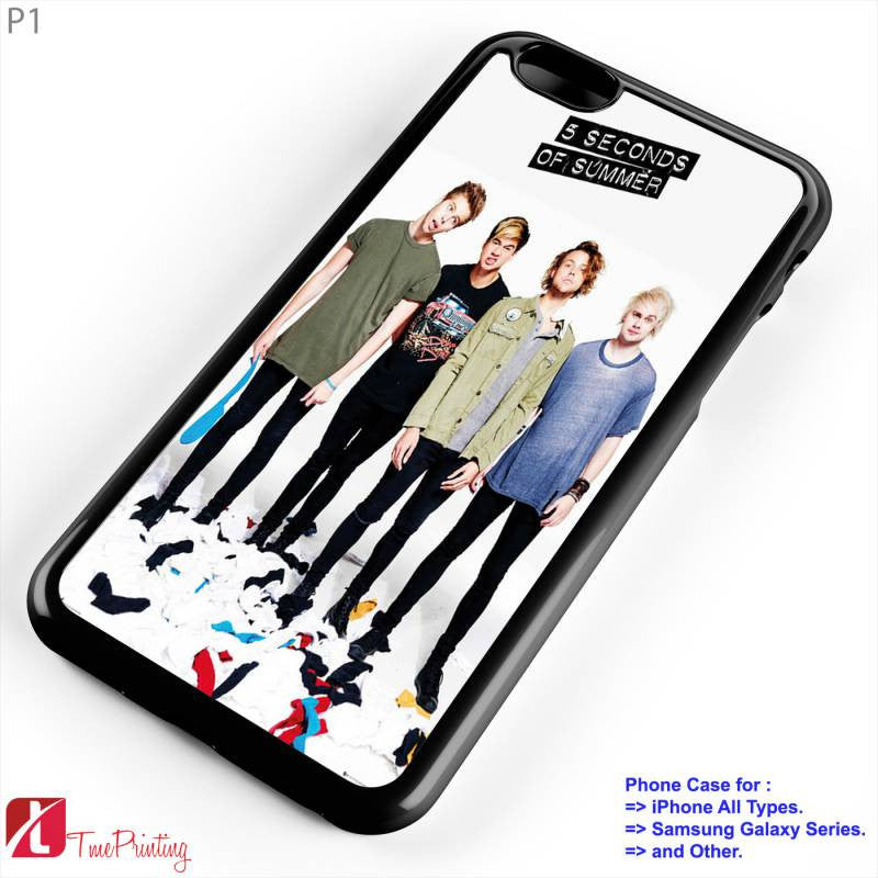 5 Seconds of Summer  2 - Personalized iPhone 7 Case, iPhone 6/6S Plus, 5 5S SE, 7S Plus, Samsung Galaxy S5 S6 S7 S8 Case, and Other