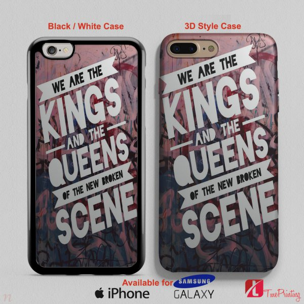 5 Seconds of Summer She is Kinda Hot - Personalized iPhone X Case, iPhone Cases, Samsung Galaxy Cases 2868