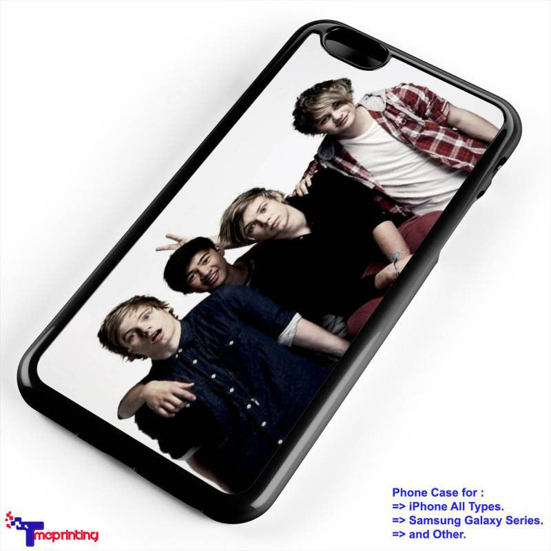 5 Seconds of Summer - Personalized iPhone 7 Case, iPhone 6/6S Plus, 5 5S SE, 7S Plus, Samsung Galaxy S5 S6 S7 S8 Case, and Other