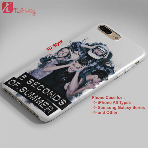 5 seconds of summer luke hemmings 5SOS - Personalized iPhone 7 Case, iPhone 6/6S Plus, 5 5S SE, 7S Plus, Samsung Galaxy S5 S6 S7 S8 Case, and Other