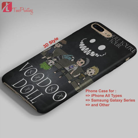 5 seconds of summer voodoo doll 5SOS - Personalized iPhone 7 Case, iPhone 6/6S Plus, 5 5S SE, 7S Plus, Samsung Galaxy S5 S6 S7 S8 Case, and Other