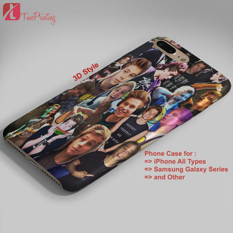 5SOS ASHTON IRWIN COLLAGE 5 seconds of summer  - Personalized iPhone 7 Case, iPhone 6/6S Plus, 5 5S SE, 7S Plus, Samsung Galaxy S5 S6 S7 S8 Case, and Other