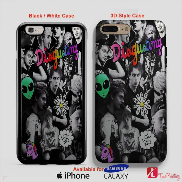 5sos 5 Seconds Of Summer Band Merch - Personalized iPhone 7 Case, iPhone 6/6S Plus, 5 5S SE, 7S Plus, Samsung Galaxy S5 S6 S7 S8 Case, and Other