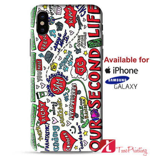 O2L Our Second Life Personalized iPhone X Case, iPhone Case, Samsung Galaxy Case 9141