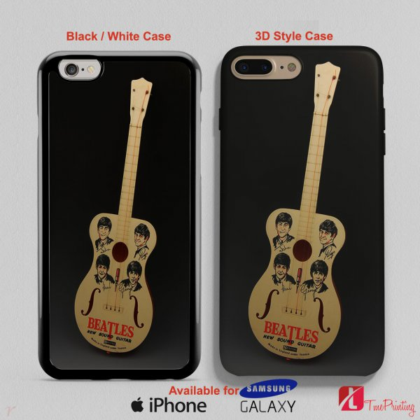 A child plastic Selcol Beatles New Sound Guitar - Personalized iPhone X Case, iPhone Cases, Samsung Galaxy Cases 3193