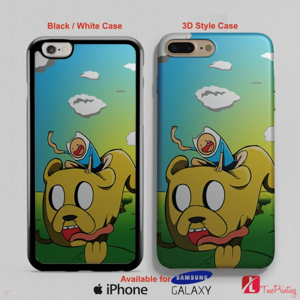 ADVENTURE TIME FINN AND JAKE - Personalized iPhone X Case, iPhone Cases, Samsung Galaxy Cases 2950