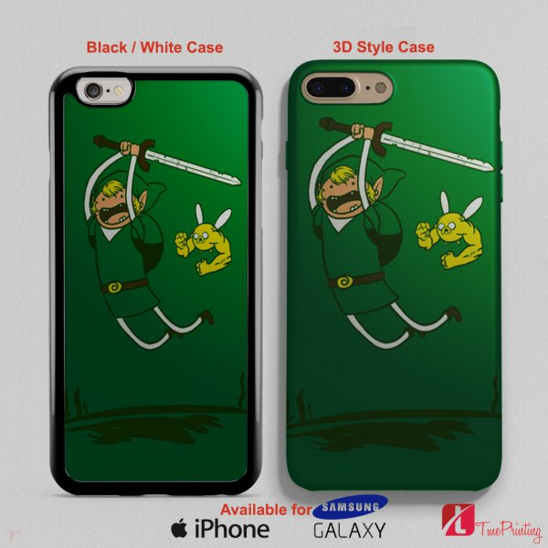 ADVENTURE TIME ZELDA - Personalized iPhone X Case, iPhone Cases, Samsung Galaxy Cases 2784