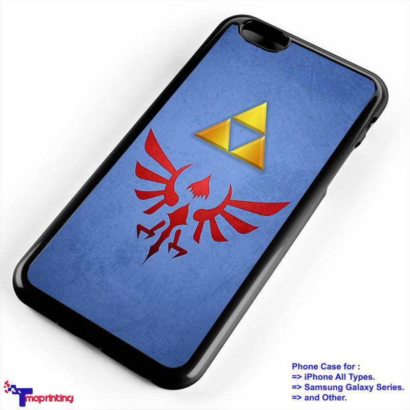 ALBW Hylian Shield The Legend of Zelda - Personalized iPhone 7 Case, iPhone 6/6S Plus, 5 5S SE, 7S Plus, Samsung Galaxy S5 S6 S7 S8 Case, and Other