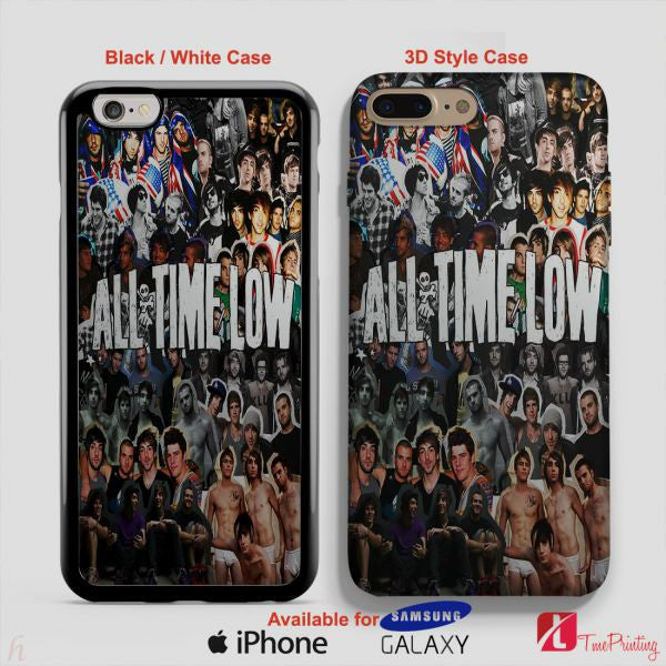 All Time Low Collage Band Merch - Personalized iPhone 7 Case, iPhone 6/6S Plus, 5 5S SE, 7S Plus, Samsung Galaxy S5 S6 S7 S8 Case, and Other