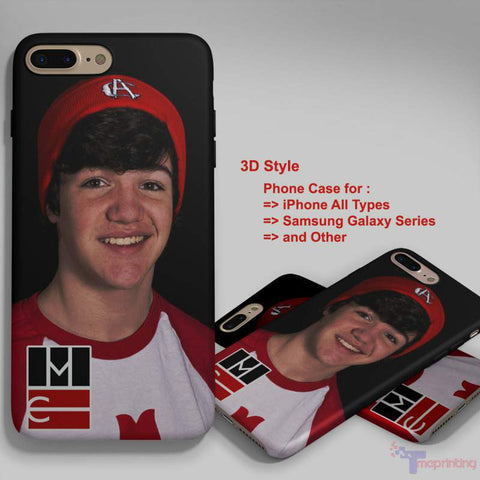 Aaron Carpenter Magcon boys - Personalized iPhone 7 Case, iPhone 6/6S Plus, 5 5S SE, 7S Plus, Samsung Galaxy S5 S6 S7 S8 Case, and Other