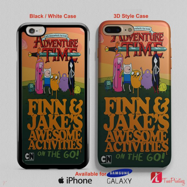 Adventure Time Bedding - Personalized iPhone X Case, iPhone Cases, Samsung Galaxy Cases 2938