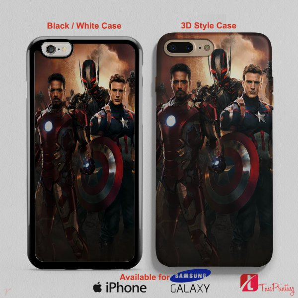 Age Of Ultron 2 - Personalized iPhone X Case, iPhone Cases, Samsung Galaxy Cases 3063