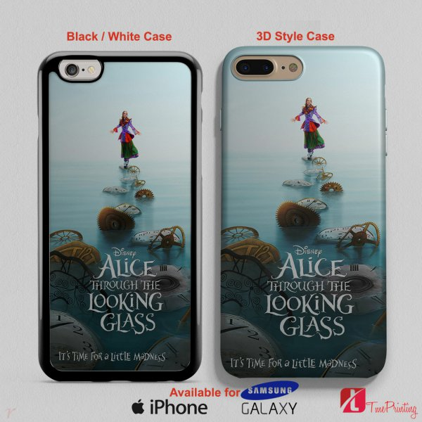 Alice Through the Looking Glass - Personalized iPhone X Case, iPhone Cases, Samsung Galaxy Cases 2856