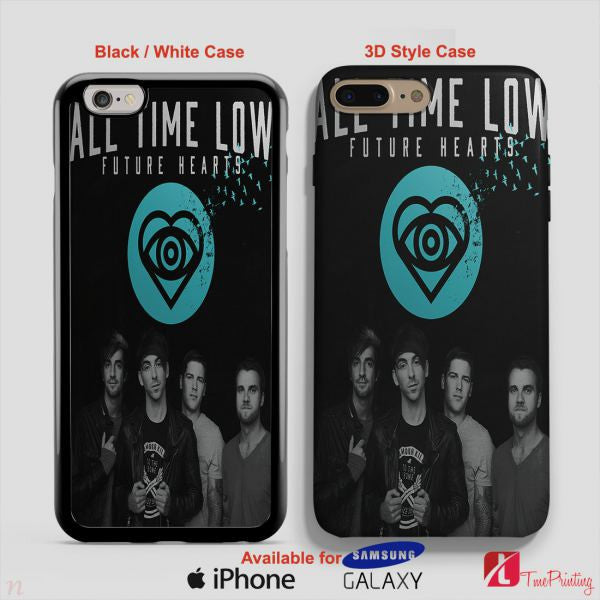 All Time Low Future Hearts Merch Band - Personalized iPhone 7 Case, iPhone 6/6S Plus, 5 5S SE, 7S Plus, Samsung Galaxy S5 S6 S7 S8 Case, and Other